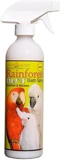 King's Cages Rainforest Mist Bath Spray for Cockatoos & Macaw 17oz.