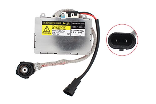NewYall 81107-2D020 Xenon HID Ballast Headlight Control Unit for Driver/Passenger Left/Right side D2S D2R 2000H