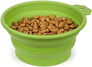 Guardian Gear Bend A Dog Bowl, 6-Inch, Green