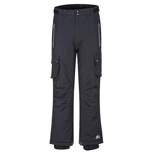 Cox Swain Damen Ski-/Snowboardhose JURAI - 8.000mm Wassersäule, Colour: Black/Grey Zipper, Size: L