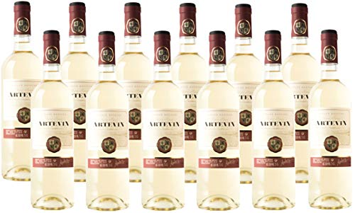 Artevin vino Blanco - Caja 12 botellas 750 ml (Caja 12 botellas)