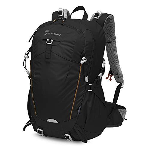 MOUNTAINTOP 35L Zaino Trekking Outdoor Multifunzione Zaino per Uomo Donna da Escursionismo Campeggio Viaggio Zaini con Copertura della Pioggia
