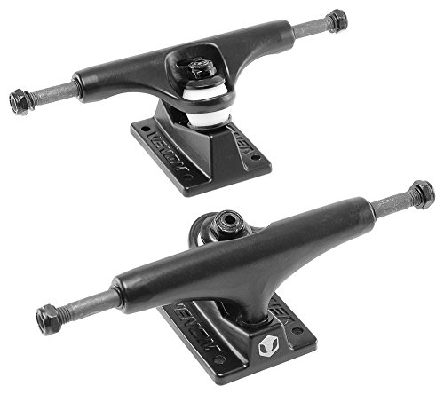 Venom schwarz Hollow Light Kingpin/Achse Skateboard Trucks 12,7 cm/13,3 cm, schwarz