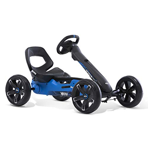 Berg Pedal Gokart Reppy Roadster | Kinderfahrzeug, Tretauto mit Optimale Sicherheid, Soundbox im Lenkrad, Kinderspielzeug geeignet für Kinder im Alter von 2.5-6 Jahren, 24.60.04.00