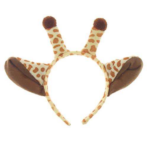TOYMYTOY Kinder Giraffe Stirnband Horn Form Tiere Ohren Haarband Haarschmuck Cosplay Kostüm Kopfschmuck Kopfschmuck