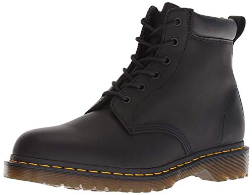 Dr. Martens Mens 939 Ben Boot Greasy Fashion Smooth Leather Black Boots - Black - 7.5