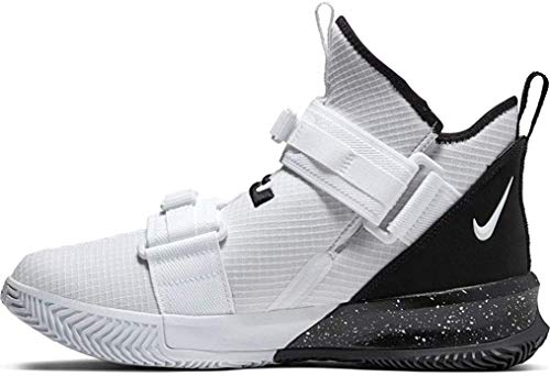 Nike New Lebron James Soldier XIII SFG TB Basketball Shoes Men 9.5 White/Black