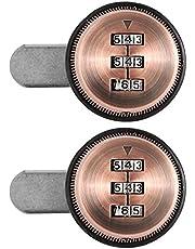 Code Mechanisch codeslot 2-delig kastslot 3-cijferig wachtwoord, voor kluisjes