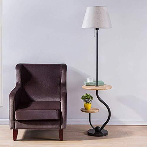 HYY-YY - Lámpara LED de pie para salón, moderna, sencilla y moderna, ideal para el dormitorio, creativa, lámpara de pie, lámpara de pie nórdica, cuidado de ojos, luz de suelo vertical, B (color: A)