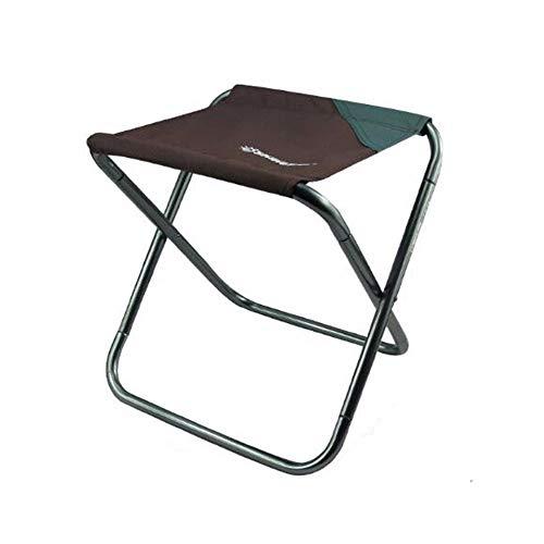 lem Hocker Klappstuhl Campinghocker, Leichter Angelhocker Klappbarer Campinghocker Kleiner Angelstuhl mit stabilen flachen Füßen und Tragetasche, ideal für Campingangeln, Picknick im Garten