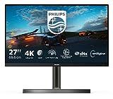 Philips Monitors 278M1R/00-27 UHD 4K, 60 Hz, IPS, Flicker Free (3840x2160, 350 CD/m, HDMI 2x2.0, Displayport, USB) Negro