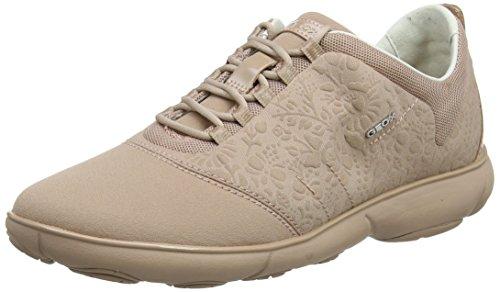 Geox Damen D Nebula A Sneaker, Pink (Antique Rose), 41 EU