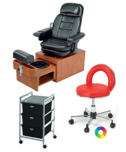 Pibbs Footsie Pedicure Spa Package: (1) Pibbs Portable No Plumbing Footsie Pedicure Spa Chair Model PS93, (1) Pibbs 549 JoJo...