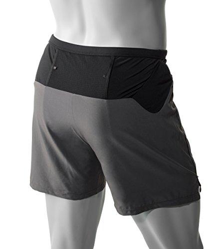 ALTRA Men's Trail Short 2.0, Grey, X-Large