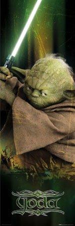 Star Wars - Türposter - Episode III. Yoda + Ü-Poster