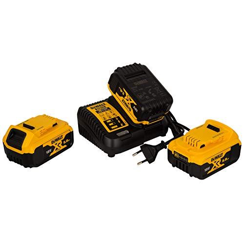 DEWALT batteria di starter kit, 1pezzi, giallo; nero, dcb115p3QW