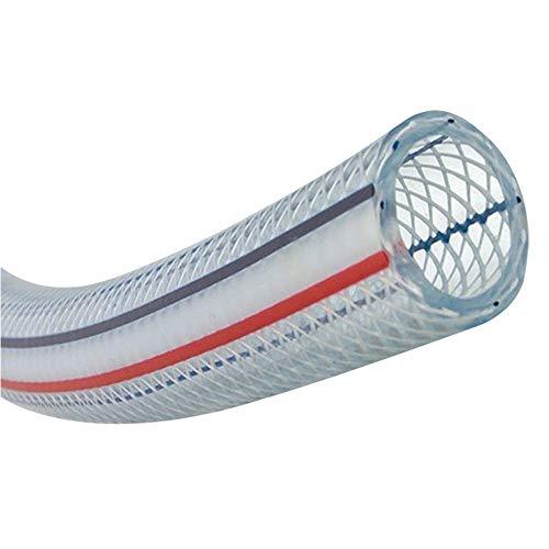 HAIYU- Flexibele PVC slang transparante tuinslang pijp, 1/2 Inch, 3/4 Inch en 1 Inch buisdiameter, slijtvast en anti-Kink, eenvoudige opslag, 50m / 100m