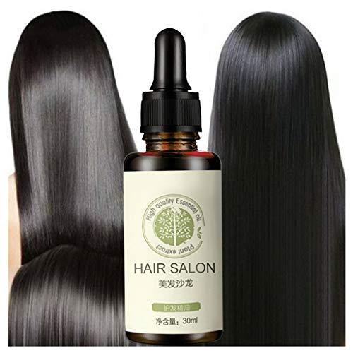 ErYao Hair Regrowth Serum, Hair Care Essential Oil Rich in Vitamin, Hair Restore Biotin Hair Growth Serum, Repair Damaged Hair (Multicolor 30ml)
