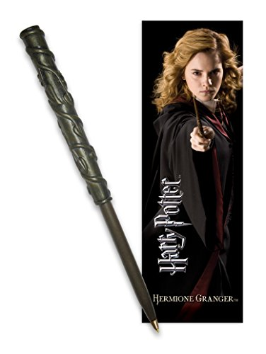 The Noble Collection Harry Potter: Ensemble Stylo et Marque-Pages Hermione.