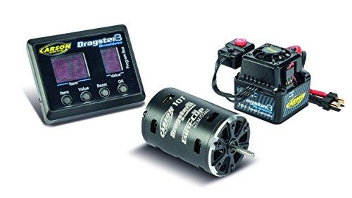 Carson 500906243 - BL-Set Dragster-3 10T