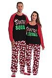 #followme Family Pajamas Microfleece Womens Pajama Set 6751-10433-L