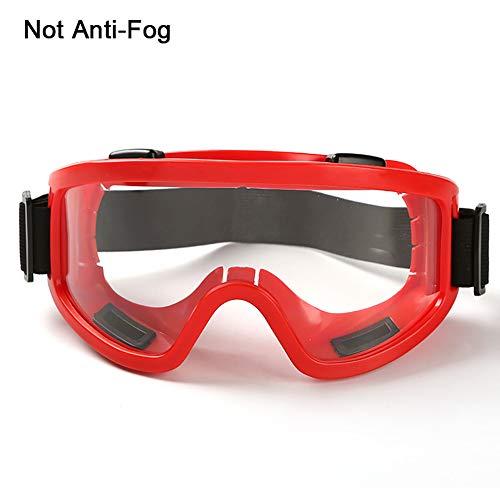Pannow veiligheidsbril, skibril, winddichte spiegel, zand-proof, stofdicht, anti-plash veiligheidsbril, arbeidsverzekering, bril. Veiligheidsbril Rood