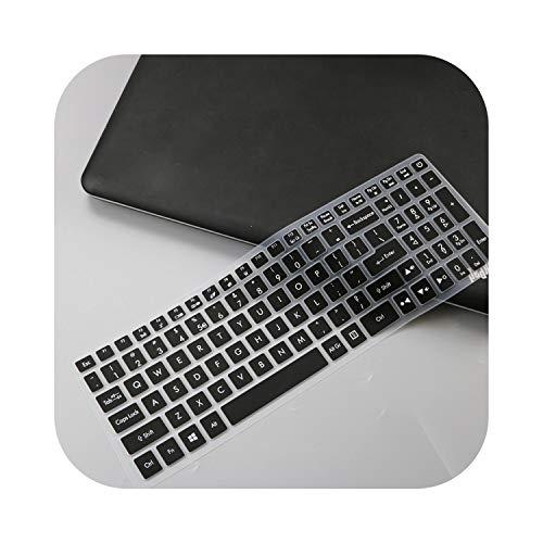 """Housse de protection pour clavier d'ordinateur portable Acer Predator Helios 300 15,6"""" 17,3"""" G3-571 G3-572 PH315-51 PH317-52 VX5-591G VN7-793G Noir"""