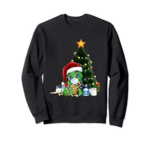 2020 Camisa De Cuarentena De Navidad Mascarilla De Santa Sudadera