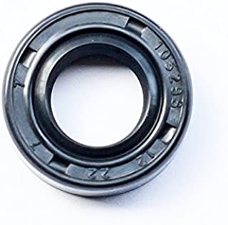 EAI Oil Seal 12mm X 28mm X 7mm TC Double Lip w//Spring Metal Case w//Nitrile Rubber Coating