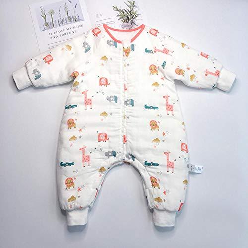 flqwe Baby Jongen Meisje Draagbare Deken, Slaapzak, Bamboe katoen baby slaapzak, Pasgeboren Baby Swaddle Deken Wrap Slaapzakken