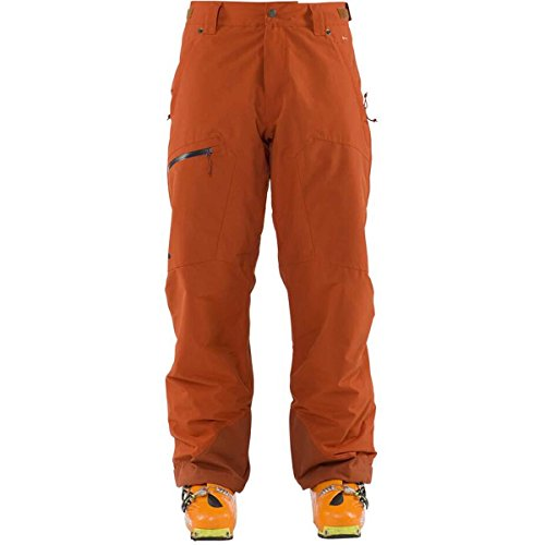 Flylow Mens Snowman Insulated Pant (Rust / Large)