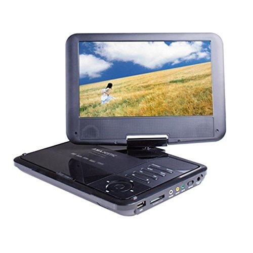 New Majestic DVX-180 Cabrio zwart 22,9 cm (9 inch) - Draagbare DVD-/Blu-Ray-speler (Cabrio, zwart, CD-Audio, CD,CD-RW, DVD,DVD+R, DVD-R, NTSC,PAL, 22,9 cm (9 inch)