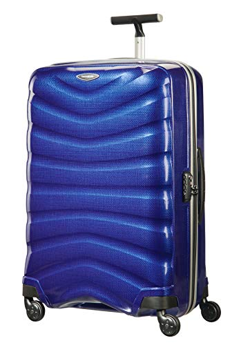 Samsonite Firelite - Spinner L Koffer, 75 cm, 93 L, Blau (Deep Blue)