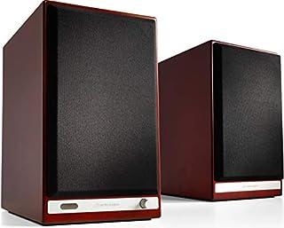 Audioengine HD6 150 W trådlös bokhyllehögtalare   Inbyggd USB 24-bitars DAC & analog förstärkare   aptX HD Bluetooth, S/PD...