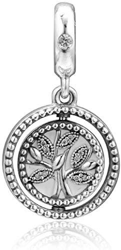 VVHN 2019 Día de la Madre Regalo de Giro del árbol de la Vida Dangle Bead 925 Plata DIY se Adapta a Pandora Bracelets Original Pulseras del Encanto Joyería de Moda