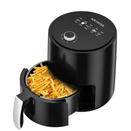 Freidora 3,2 litros Cocina saludable sin aceite y baja en grasas Mini horno Función de temporizador Temperatura ajustable Patatas fritas, pollo, sabrosas comidas nutritivas