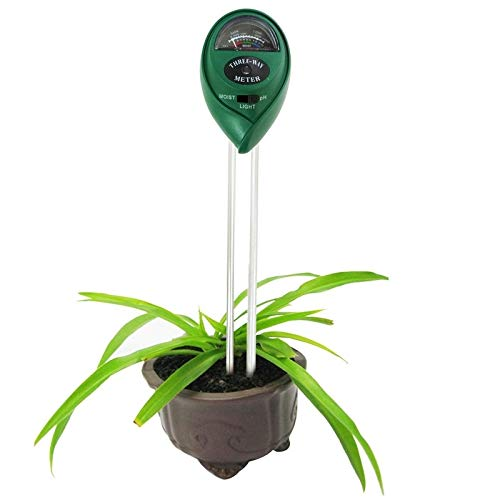 Find Discount It is a Perfect Choice for You 3 in 1 Plant Flowers Soil Meter (PH + Moisture + Light)...