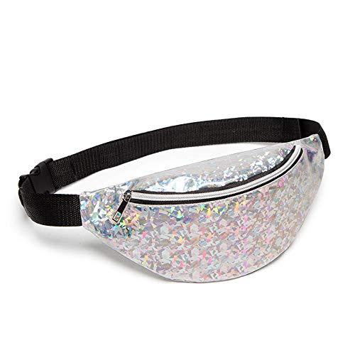 Mujeres Calientes Paquetes de Cintura Chica Floral Glitter Holiday Cinturón Monedero Bum...