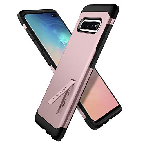 Spigen Tough Armor Designed for Samsung Galaxy S10 Plus Case (2019) - Rose Gold