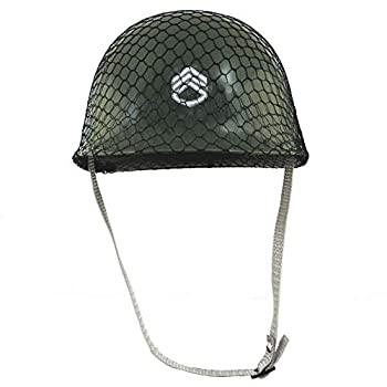Jacobson Hat Company Childrens Green Army Helmet Costume Accessory