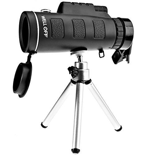 D2D visión Nocturna 40 x 60 Mini HD monocular teléfono cámara Lente de Caza telescopio