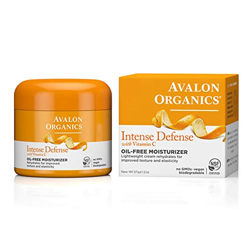 Avalon Organics Intense Defense Oil-Free Moisturizer, 2 oz.