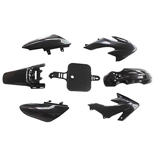 SAXTEL Carcasa de plástico de la cubierta de las piezas todo terreno de la motocicleta carenado ligero guardia completa durable accesorios de repuesto para Honda CRF50