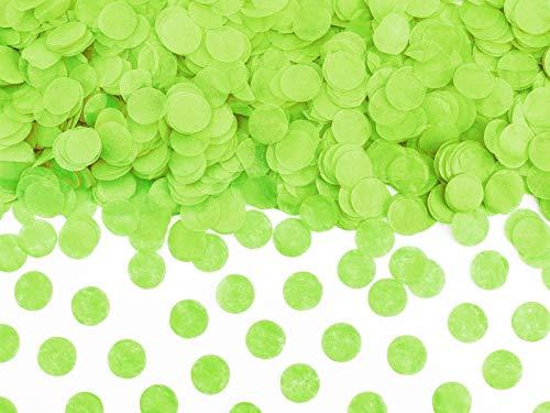Di&Gi Confetti Papier Circolari - 15 Gr. - Apfel grün