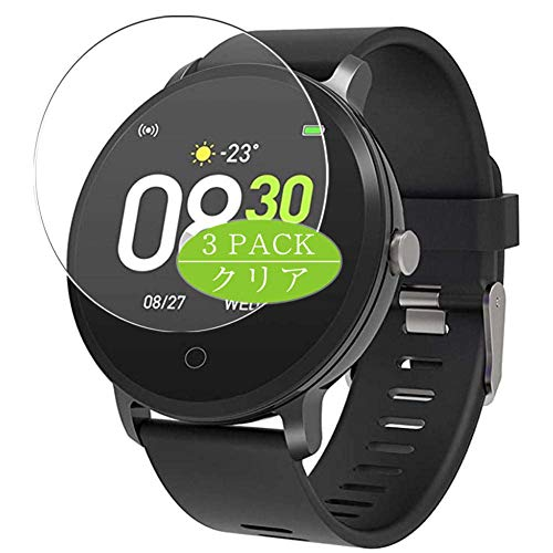 Vaxson 3 Stück Schutzfolie kompatibel mit BingoFit x9 smartwatch Smart Watch, Displayschutzfolie Bildschirmschutz Blasenfreies [nicht Panzerglas]