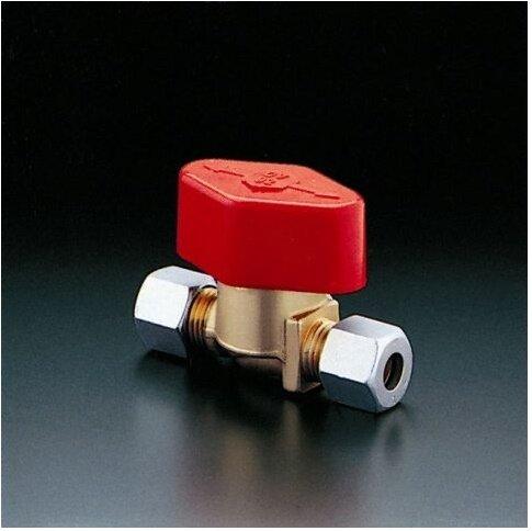 Oventrop Schnellschlussventil Messing roh, Durchgangsform 8 x 8 mm