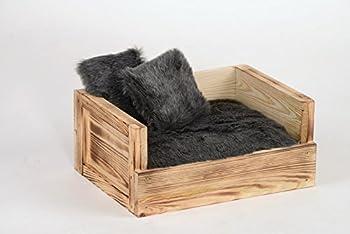 Canapé pour animaux avec 2coussins- Skyler - Dimensions (Lxlxh): 34x45x20cm - Silvio Design