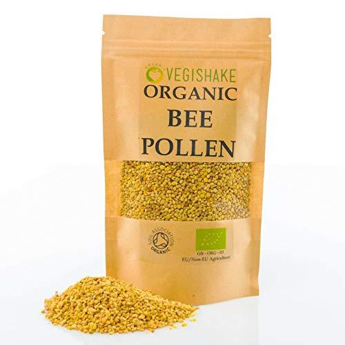 Bee Pollen B-Complex Vitamins B1 B2 B9 C E and Copper (150g)