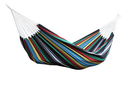 Vivere BRAZ227 Amaca Brasiliana, Cotone, 240 x 160 cm, Multicolore Rio Notte