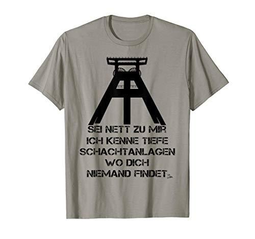 Ruhrpott Zechen lustiges Geschenk für Männer T-Shirt